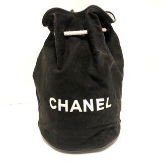 シャネル(CHANEL)のシャネル - 黒×白 巾着バッグ/ノベルティ(その他)