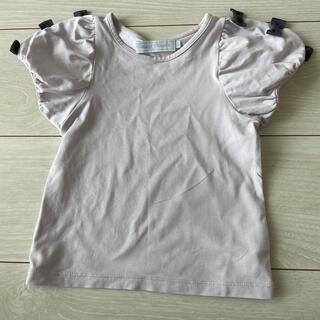 タルティーヌ エ ショコラ(Tartine et Chocolat)のタルティーヌエショコラ リボンT 90cm(Tシャツ/カットソー)