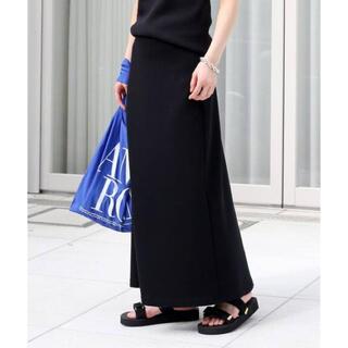 DEUXIEME CLASSE - Deuxieme Classe  *Jersey フレアスカート ブラック