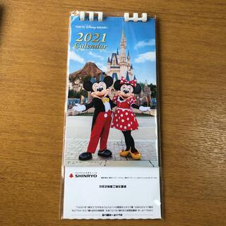 Disney - 東京ディズニーリゾート 卓上カレンダー 2021