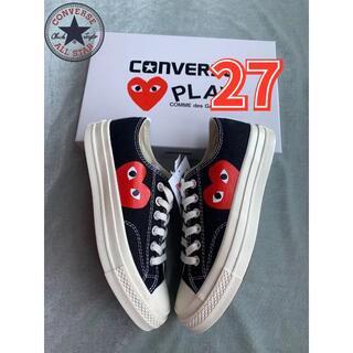 CONVERSE - 27cmコンバース CDG Play x CONVERSE 1970sCT黒