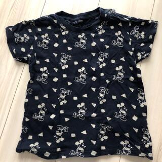 ユニクロ(UNIQLO)のユニクロ ミッキー Tシャツ サイズ100(Tシャツ/カットソー)