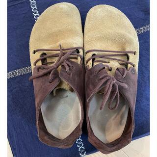 ビルケンシュトック(BIRKENSTOCK)のBIRKENSTOCK ビルケンシュトック ブラウン 靴 24.5(サンダル)