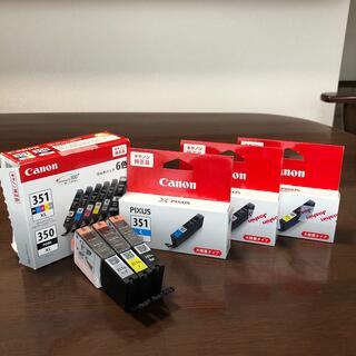 キヤノン(Canon)のcanon PIXUS 351 インク6色分(PC周辺機器)
