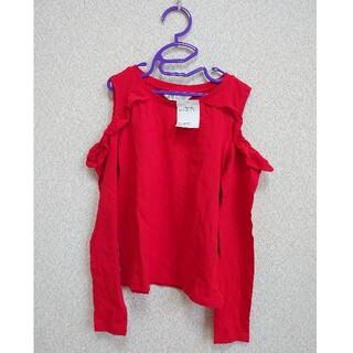 H&M - 【H&M】オープンショルダーTシャツ