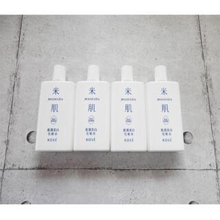 KOSE COSMEPORT - 最新商品 KOSE 米肌 肌潤美白化粧水 4本 120ml コーセー