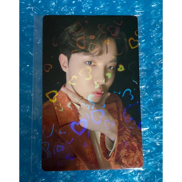 BTS 限定トレカ BE  ホソクBE トレカ ホソク エンタメ/ホビーのCD(K-POP/アジア)の商品写真