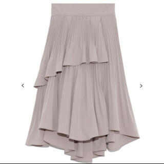 snidel - Snidel プリーツフレアミニスカート
