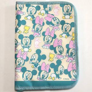 ディズニー(Disney)の母子手帳ケース  Disny ベビーミッキー&ミニー(母子手帳ケース)
