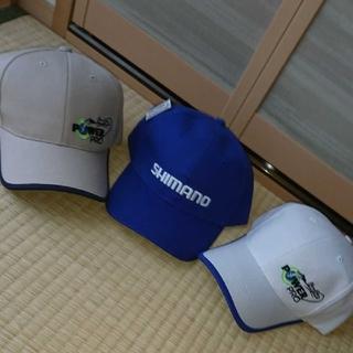 シマノ(SHIMANO)のシマノSHIMANO釣りキャップ3点セット(ウエア)