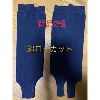 MIZUNO - ミズノ 野球ストッキング 紺 2組 一般用