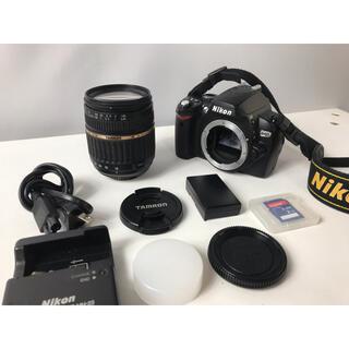 Nikon - Nikon D40x 高倍率レンズ デジタル一眼レフカメラ すぐに撮影出来ます。