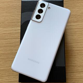 Galaxy - Galaxy S21 256GB 香港版 ホワイト 超美品 SIMフリー