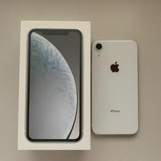 Apple - iPhone XR ホワイト 64 GB SIMフリー