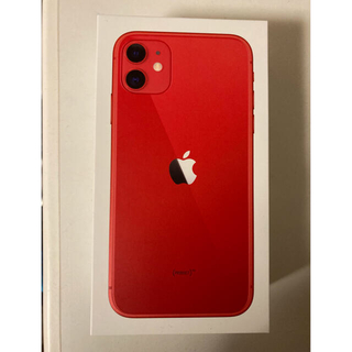 iPhone - 新品未使用 iPhone 11 (PRODUCT)RED 64GB