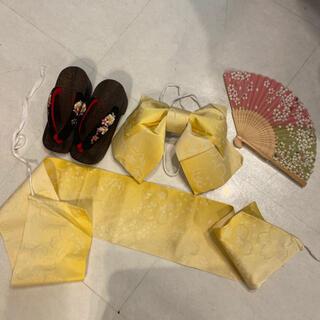下駄 帯 作り帯 扇子 セット販売画面 浴衣は別枠 ぎゅーぎゅー詰め梱包‼️(浴衣帯)