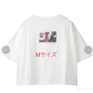シマムラ(しまむら)のTERA バックプリントTシャツ(Tシャツ(半袖/袖なし))