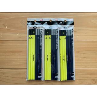 アディダス(adidas)のuni adidas 2B 鉛筆 18本セット(鉛筆)