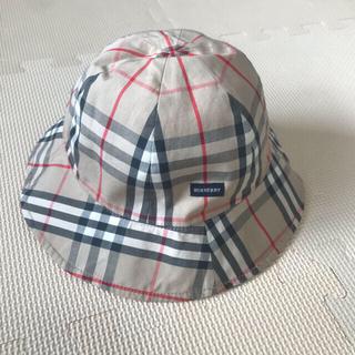 BURBERRY - 極美品 人気 バーバリー リバーシブル 帽子 ハット