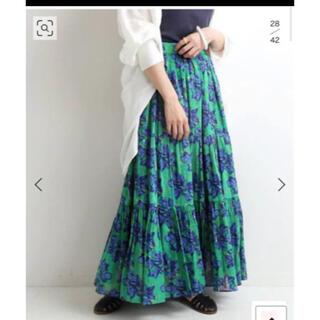 IENA - IENA 【SARA MALLIKA/サラマリカ】BIG FLOWER スカート