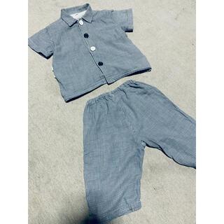 MUJI (無印良品) - 無印良品 パジャマ 半袖 90