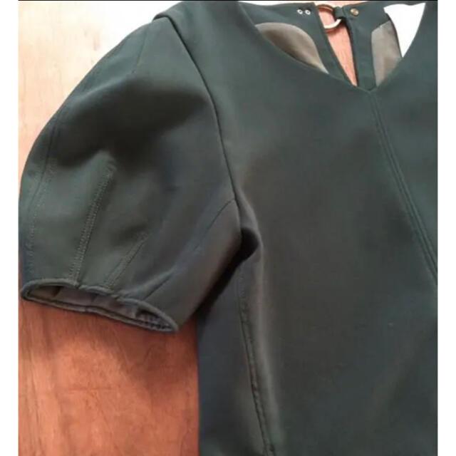 TOMORROWLAND(トゥモローランド)のほぼ未使用☆ エレンディーク トップス グリーン レディースのトップス(シャツ/ブラウス(半袖/袖なし))の商品写真