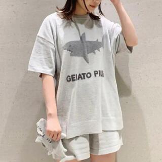 gelato pique - 新品タグ付き モチーフジャガードプルオーバー サメ シャーク