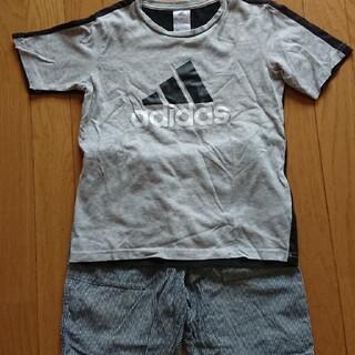 アディダス(adidas)の半袖Tシャツ ハーフパンツ 上下 セット 男の子 140 夏服(Tシャツ/カットソー)