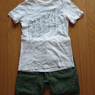 ナイキ(NIKE)のTシャツ ハーフパンツ 上下セット 半袖 男の子 140 夏服(Tシャツ/カットソー)
