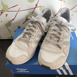 アディダス(adidas)の美品 adidas Originals ZX500 グレー系 24cm(スニーカー)