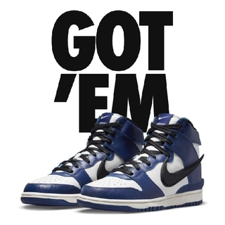 NIKE - AMBUSH×NIKE DUNK HIGH  DEEP ROYAL