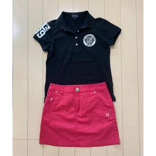 PEARLY GATES - パーリーゲイツ レディース ポロシャツ スカート セット 0 Sサイズ