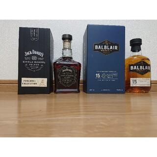 バルブレア 15年 ジャックダニエル 2019 ウイスキー 洋酒(ウイスキー)