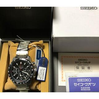 SEIKO - 最安 新品未使用 SEIKO クロノグラフ SSB031PC クォーツ
