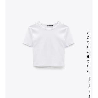 ZARA - ZARAクロップド丈Tシャツ