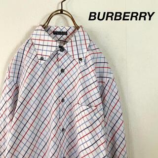 BURBERRY BLACK LABEL - BURBERRY BLACK LABEL チェック柄 ボタンダウンシャツ