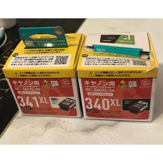キヤノン(Canon)のインクカートリッジ キャノン用 BC340XL 2個(PC周辺機器)