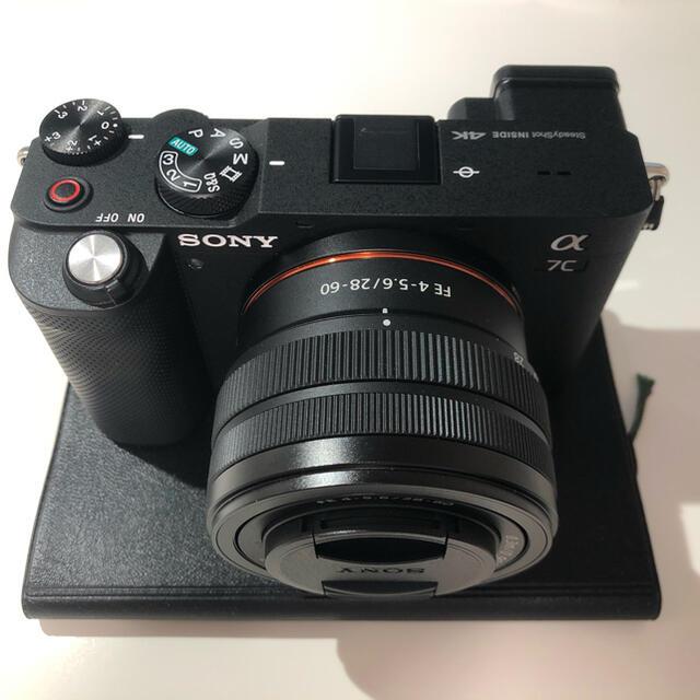 SONY(ソニー)のソニー α7c sony a7c レンズセット スマホ/家電/カメラのカメラ(ミラーレス一眼)の商品写真