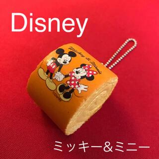 Disney - Disney ミッキー&ミニー ロールケーキスクイーズチャーム