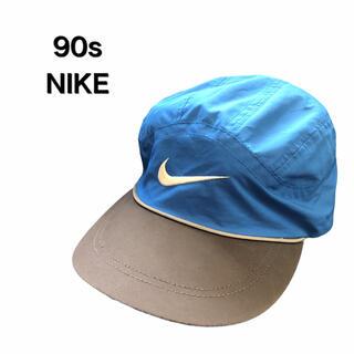 ナイキ(NIKE)の90s NIKE ナイキ キャップ 古着 スポーツ ランニング 帽子 ビンテージ(キャップ)