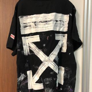 オフホワイト(OFF-WHITE)のoffwhite galaxyオフホワイト ギャラクシーtシャツ(Tシャツ/カットソー(半袖/袖なし))