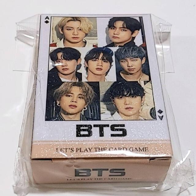 防弾少年団(BTS)(ボウダンショウネンダン)の最新版❣️bts トランプ エンタメ/ホビーのCD(K-POP/アジア)の商品写真