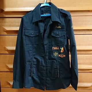 HYSTERIC GLAMOUR - ヒステリックグラマー ミリタリージャケット シャツ