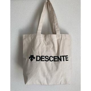 デサント(DESCENTE)の【新品未使用・DESCENT 】キャンバス生地 トートバック(その他)