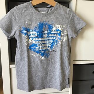 ARMANI JUNIOR - アルマーニジュニア4A106Tシャツ