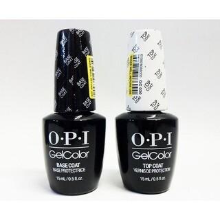 オーピーアイ(OPI)のOPI ジェル ネイル トップコート ベースコート セット 新品未開封(ネイルトップコート/ベースコート)