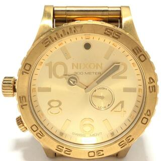 ニクソン(NIXON)のニクソン 腕時計 - 51-30 レディース(腕時計)
