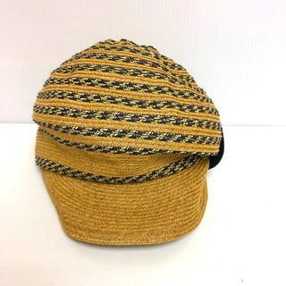 ヴィヴィアンウエストウッド(Vivienne Westwood)のヴィヴィアン 帽子 キャップ 麦わら キャスケット(麦わら帽子/ストローハット)