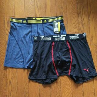 アディダス(adidas)のスポーツ ボクサーパンツ 2枚(ボクサーパンツ)