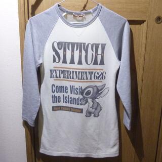ディズニー(Disney)のディズニー スティッチのTシャツ(長袖) サイズ130 <754>(Tシャツ/カットソー)